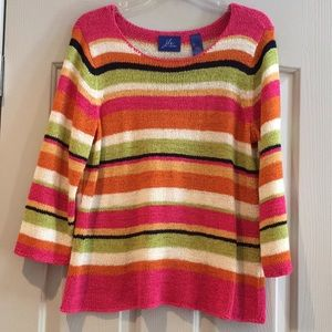Fabulous colors!  Striped sweater